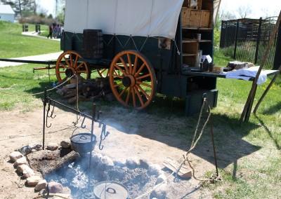 Centennial Village Wagon