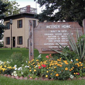 Meeker Home Exterior Square