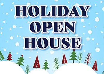 Holiday Open House Planned for Nov. 25